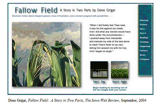 Fallow Field cover page